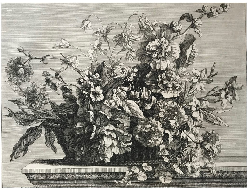 picture of flowers on a table