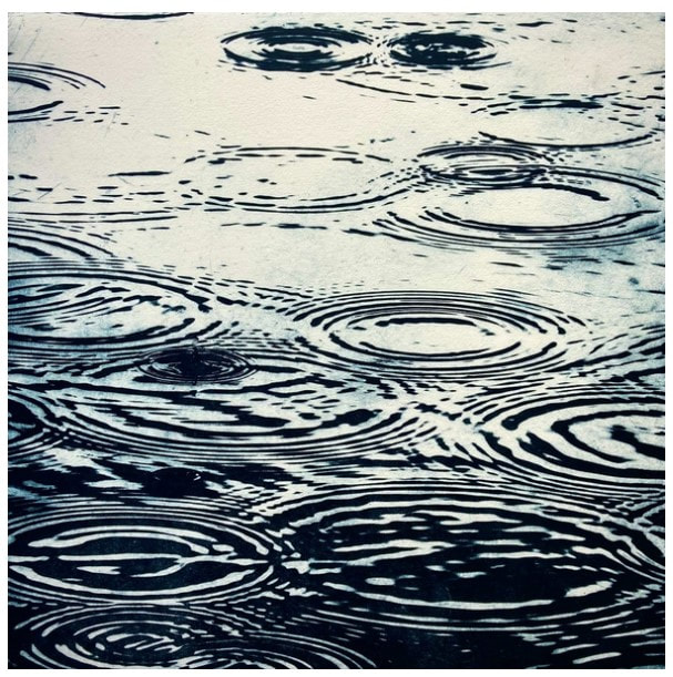picture of raindrops