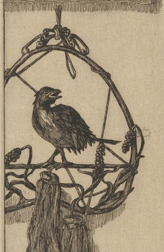 picture of a bird ornament