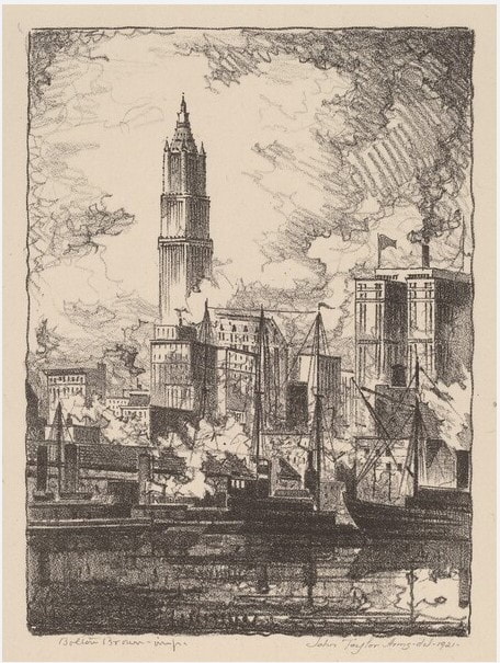 picture of New York skyline