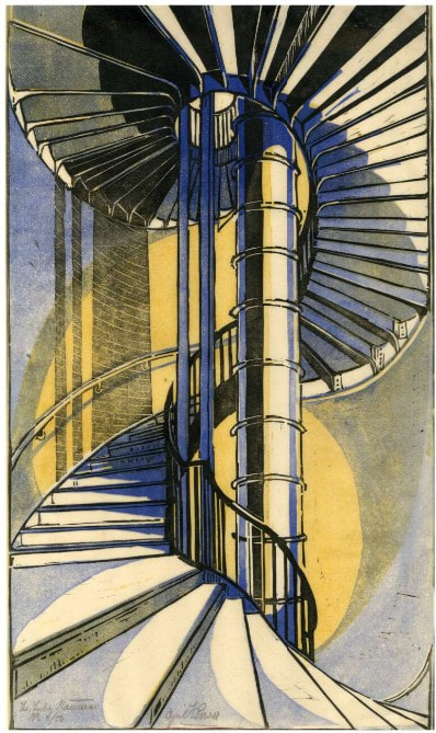 picture of spiral staircase