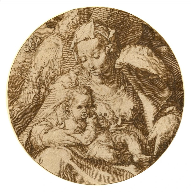 picture of the Virgin and Child