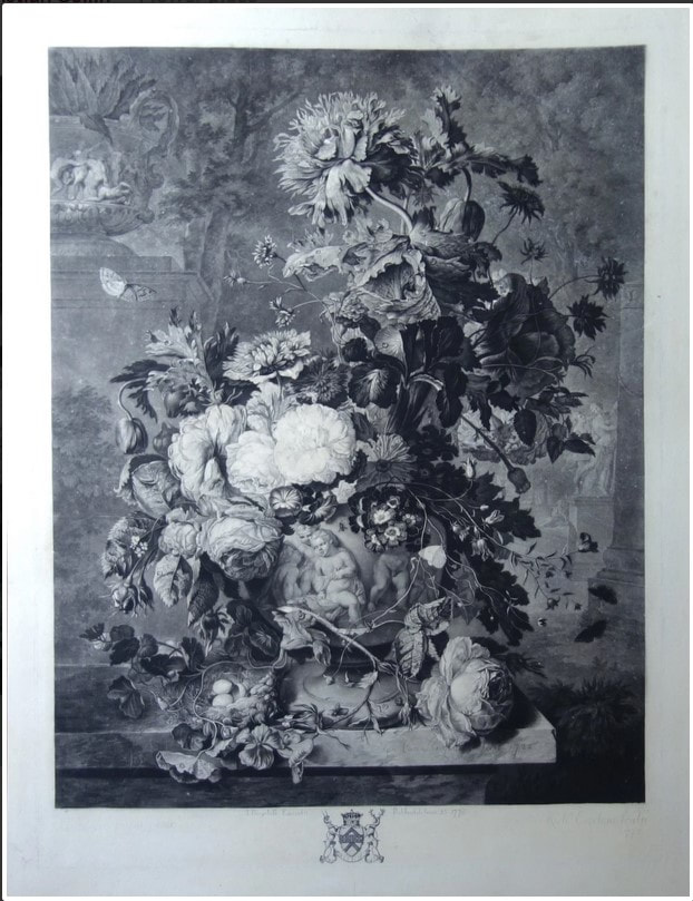 picture of a bouquet of flowers