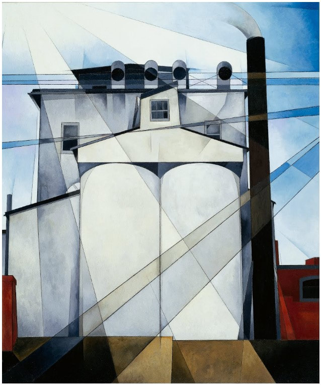 Picture of Charles Demuth's My Egypt, a painting.
