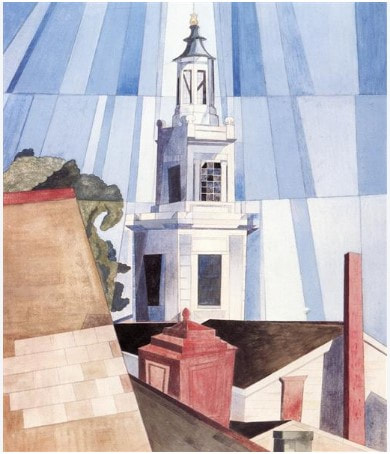 Picture of Charles Demuth's The Tower, a painting.