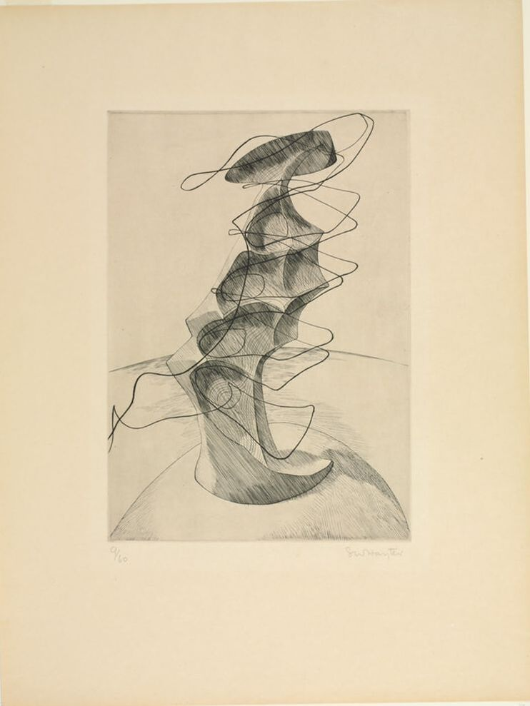 Ann Shafer curator prints drawings photographs Baltimore website art blog Hayter Atelier 17Picture